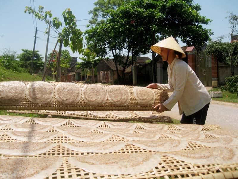Du lịch Sầm Sơn - làng nghề bánh đa Minh Châu